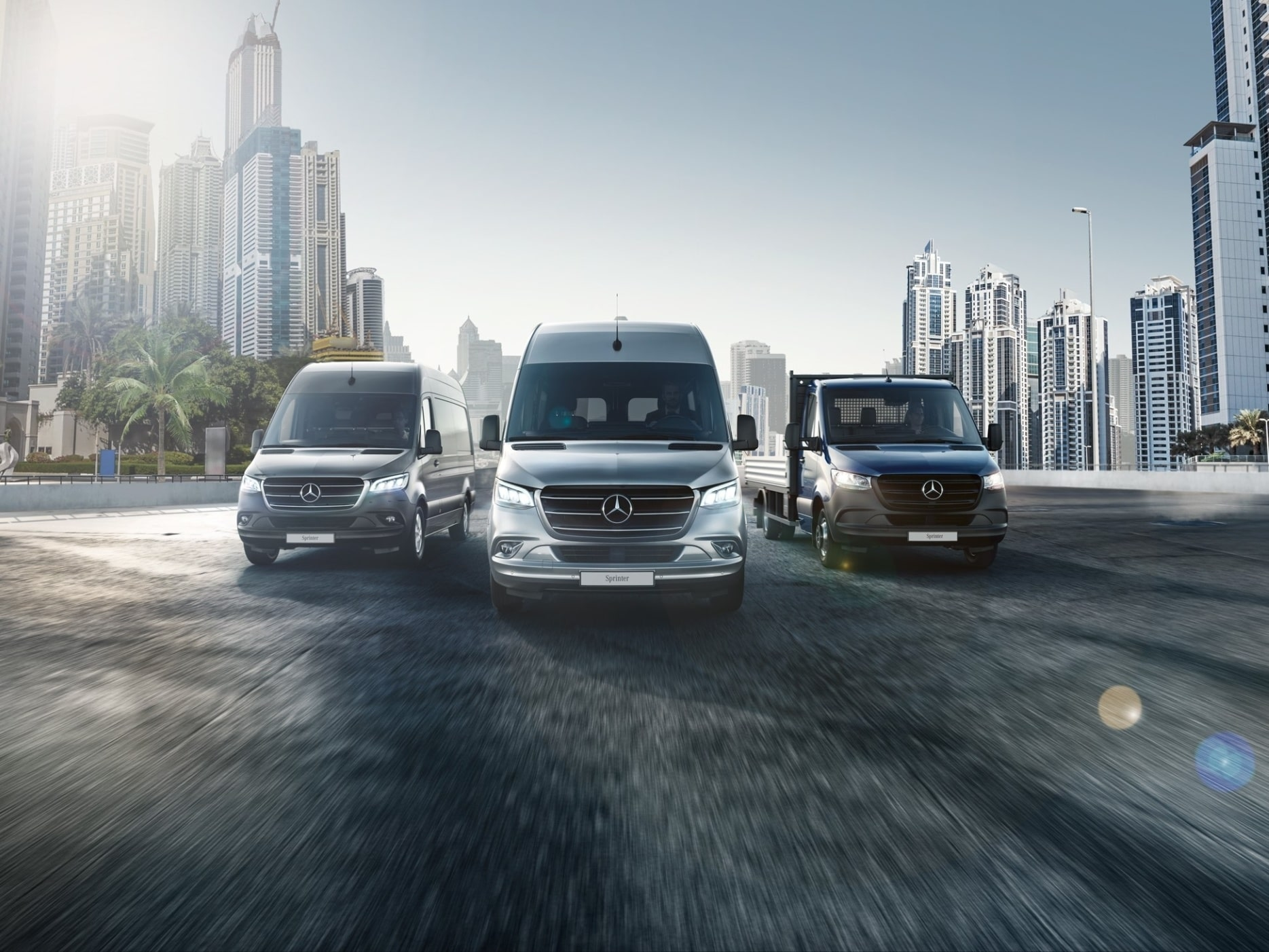 The new Sprinter.