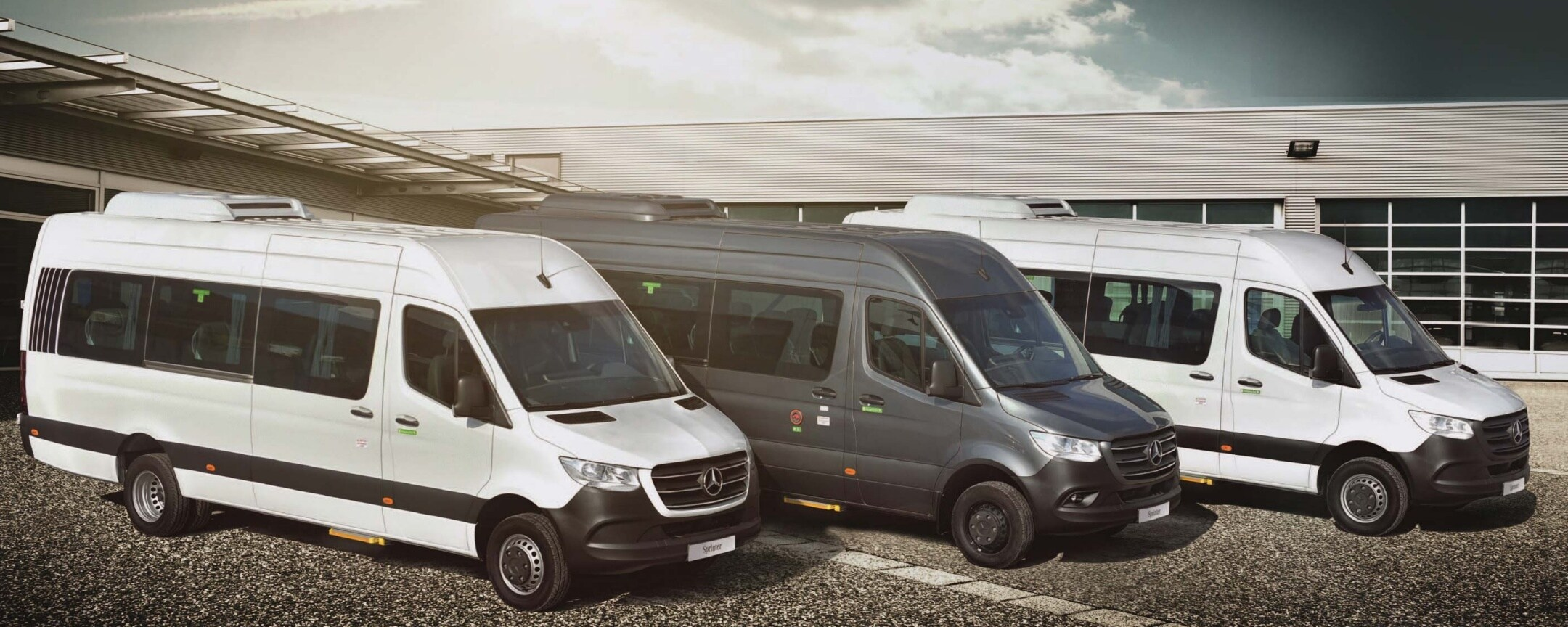 "The Sprinter ""Shuttle"" Line-up: a true professional in passenger transport"